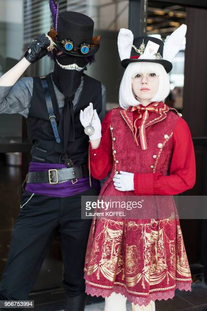 Cosplay during the 17th annual Japan Expo at ParisNord Villepinte Exhibition Center on July 710 2016 in Villepinte France
