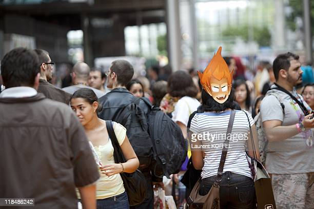 Cosplay during the Japan Expo Festival in Villepinte on July 3 2011 in France