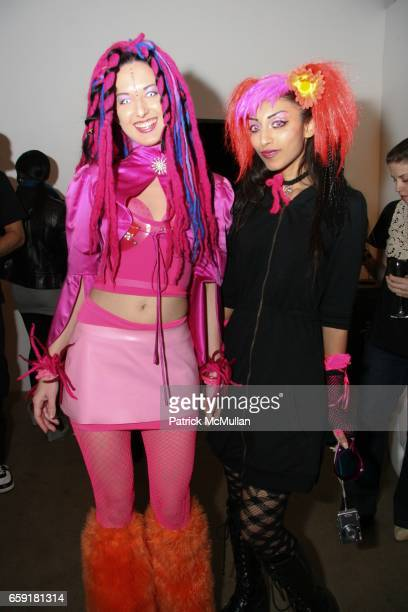 Cosplay Girls attends Royal/T celebrates KAWS at Royal/T on February 20 2009 in Culver City California