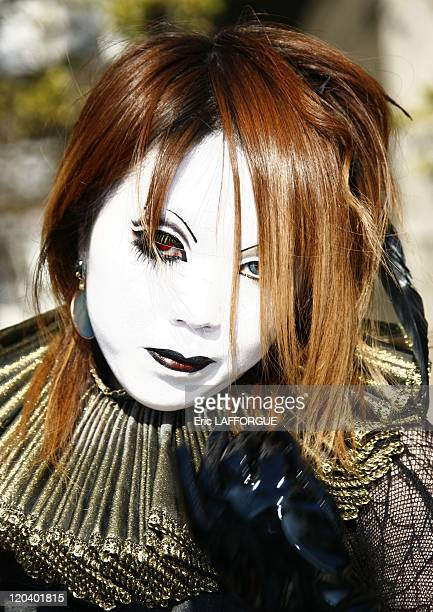 Cosplay in Harajuku Tokyo Japan on January 29 2006 Cosplay is a subculture in Japan centered on dressing as characters from manga anime video games...
