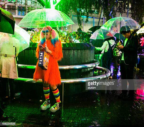 Kostümspiel in Shibuya in Tokio, Japan