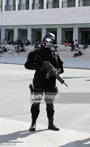 Cosplay in soldier outfit , Naples, Italy