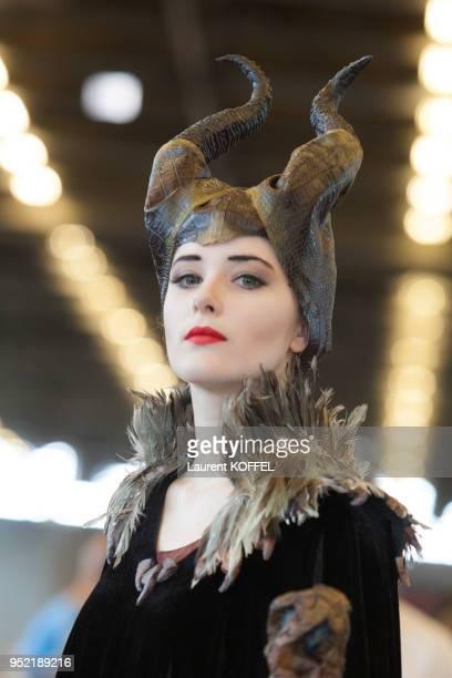Cosplay lors de 'Japan Expo 2015' évènement consacré à la culture japonaise le 4 juillet 2015 Villepinte France