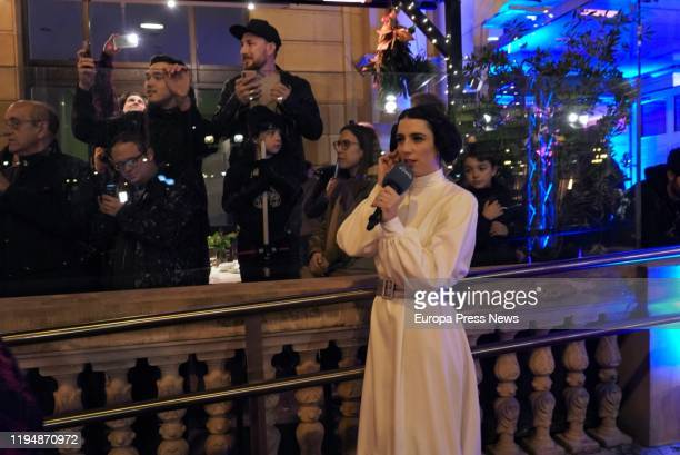 Cosplay of some Star Wars characters during the Premiere of the last film of the saga on December 18, 2019 in San Sebastian, Spain.