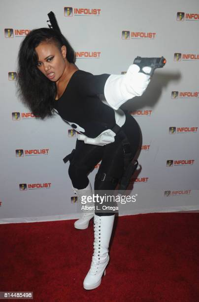 Cosplayer Annie Cruz attends Jeff Gund's INFOLISTcom's Annual PreComicCon Party held at OHM Nightclub on July 13 2017 in Hollywood California
