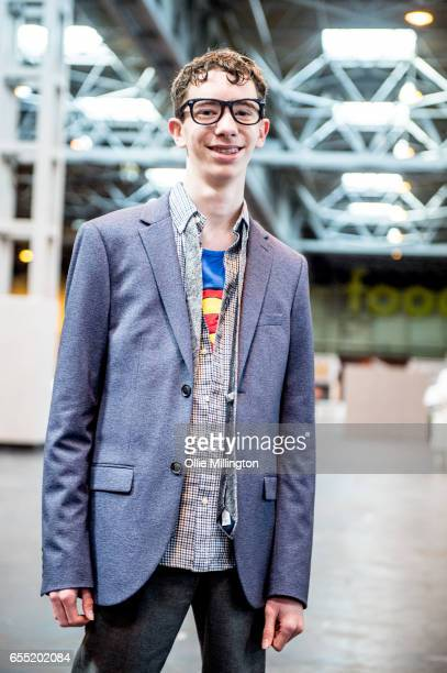 A cosplayer as Superman during the MCM Birmingham Comic Con at NEC Arena on March 19 2017 in Birmingham England