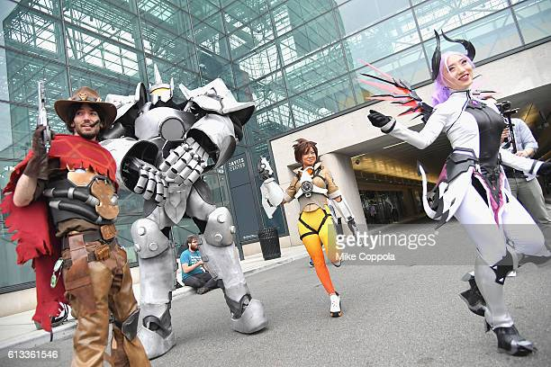 Cosplayer attend 2016 New York Comic Con on October 8 2016 in New York City