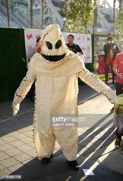 A cosplayer attends 2019 ComicCon International on July 19 2019 in San Diego California