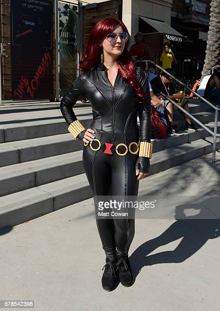 Cosplayer attends ComicCon International on July 21 2016 in San Diego California