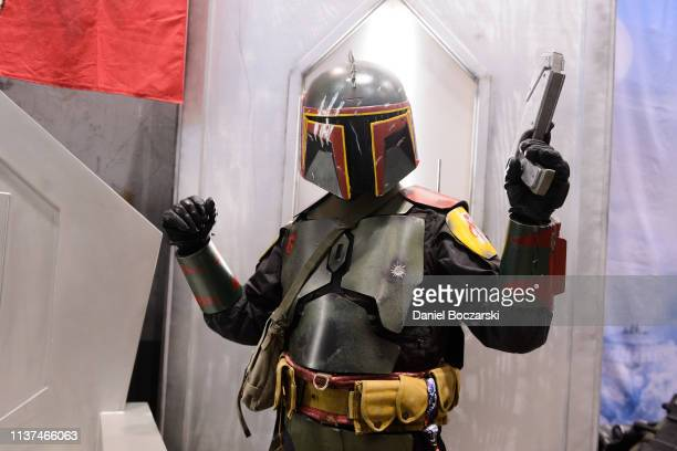 Cosplayer attends Star Wars Celebration at McCormick Place Convention Center on April 15, 2019 in Chicago, Illinois.