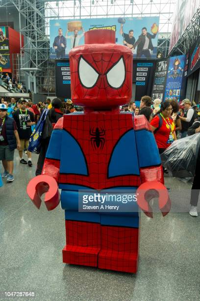 Cosplayer attends the 2018 New York Comic Con - Day 4 at the Javits Center on October 7, 2018 in New York City.