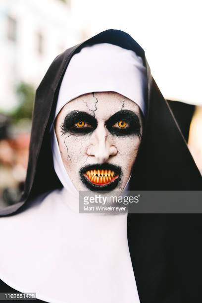 Cosplayer attends the 2019 Comic-Con International on July 18, 2019 in San Diego, California.