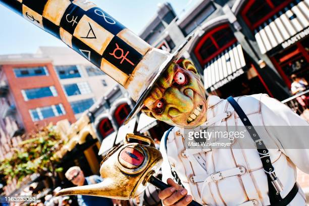 Cosplayer attends the 2019 Comic-Con International on July 20, 2019 in San Diego, California.
