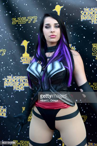 A cosplayer attends the 43rd Annual Saturn Awards at The Castaway on June 28 2017 in Burbank California