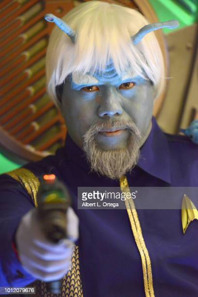 Cosplayer Bill Victor Arucan attends Day 4 of Creation Entertainment's 2018 Star Trek Convention Las Vegas at the Rio Hotel Casino on August 5 2018...