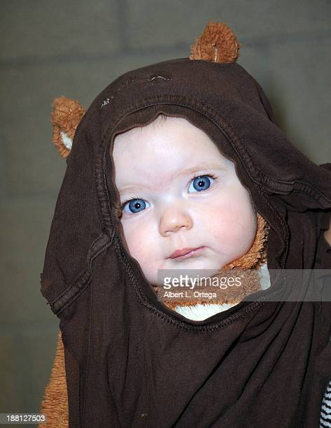 Cosplayer Cora Wolfe as an Ewok attends Stan Lee's Comikaze Expo Presented By POW Entertainment Day 1 held at Los Angeles Convention Center on...