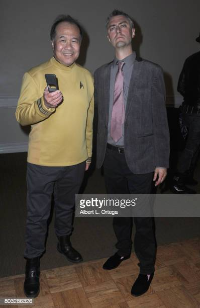 Cosplayer David Cheng and actor Sean Gunn attend the 43rd Annual Saturn Awards After Party held at The Castaway on June 28 2017 in Burbank California