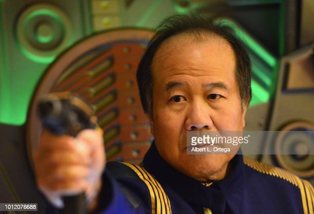 Cosplayer David Cheng attends Day 4 of Creation Entertainment's 2018 Star Trek Convention Las Vegas at the Rio Hotel Casino on August 5 2018 in Las...