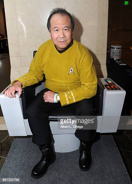 Cosplayer David Cheng attends The Hollywood Show held at The Westin Los Angeles Airport on January 7 2017 in Los Angeles California