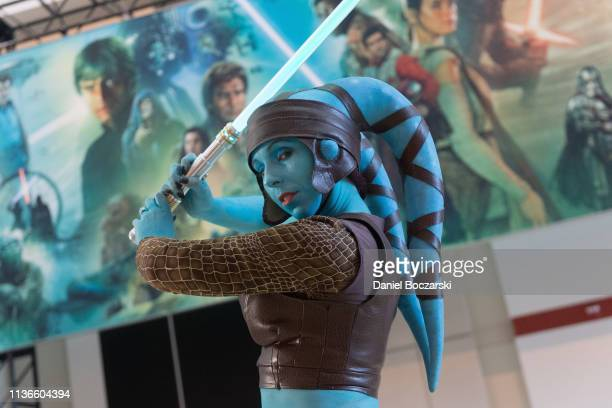 11 Aayla Secura Photos And Premium High Res Pictures Getty Images
