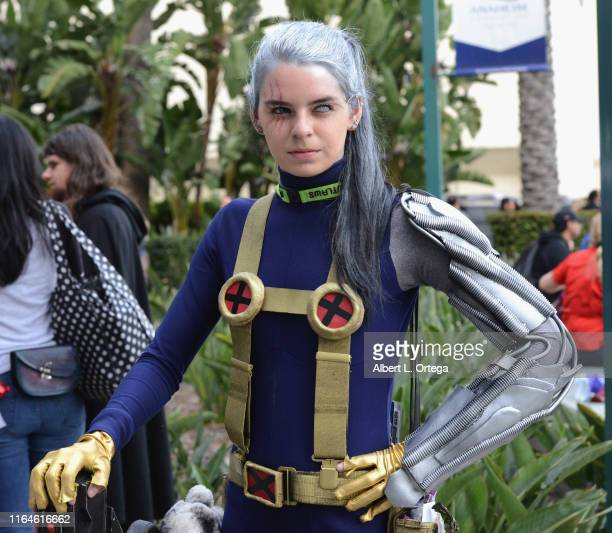 Cosplayer dressed as Cable from 'XMen' attends WonderCon 2019 Day 1 held at Anaheim Convention Center on March 29 2019 in Anaheim California