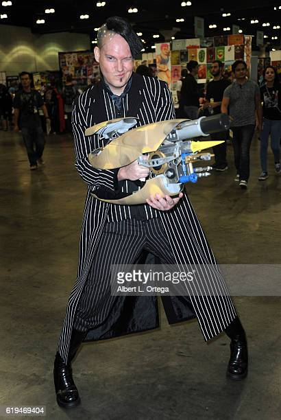 Cosplayer dressed as JeanBaptiste Emanuel Zorg from 'The Fifth Element' on day 2 of Stan Lee's Los Angeles Comic Con 2016 held at Los Angeles...
