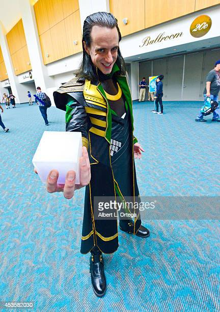 Cosplayer dressed as Loki from 'Thor' on Day 1 of Comic-Con International at the San Diego Convention Center on July 24, 2014 in San Diego,...