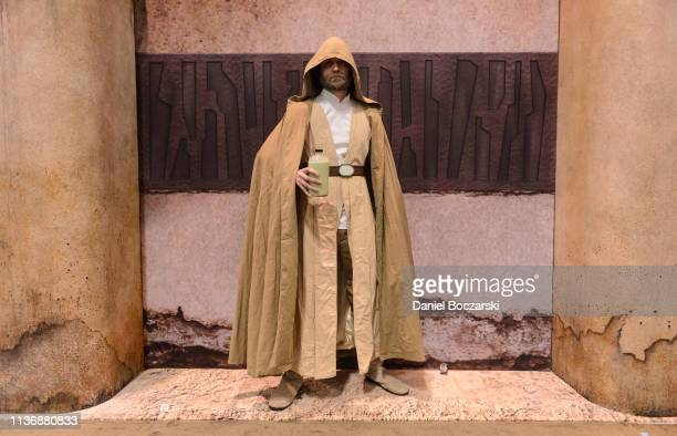 Cosplayer dressed as Luke Skywalker attends Star Wars Celebration at McCormick Place Convention Center on April 11, 2019 in Chicago, Illinois.