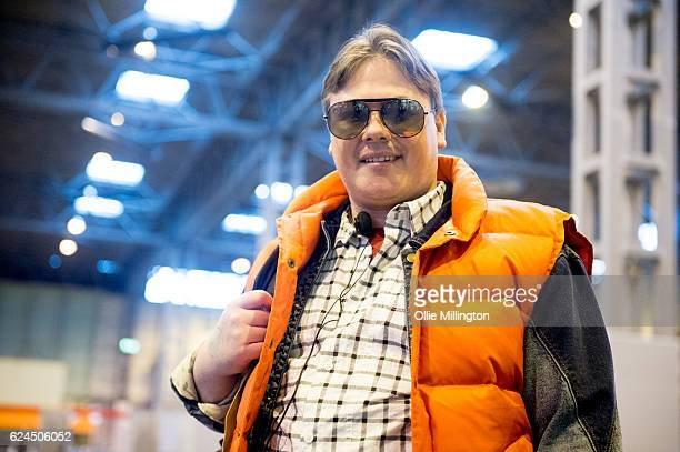 A cosplayer dressed as Marty McFly from Back to The Future during day 1 of the November Birmingham MCM Comic Con at the National Exhibition Centre in...