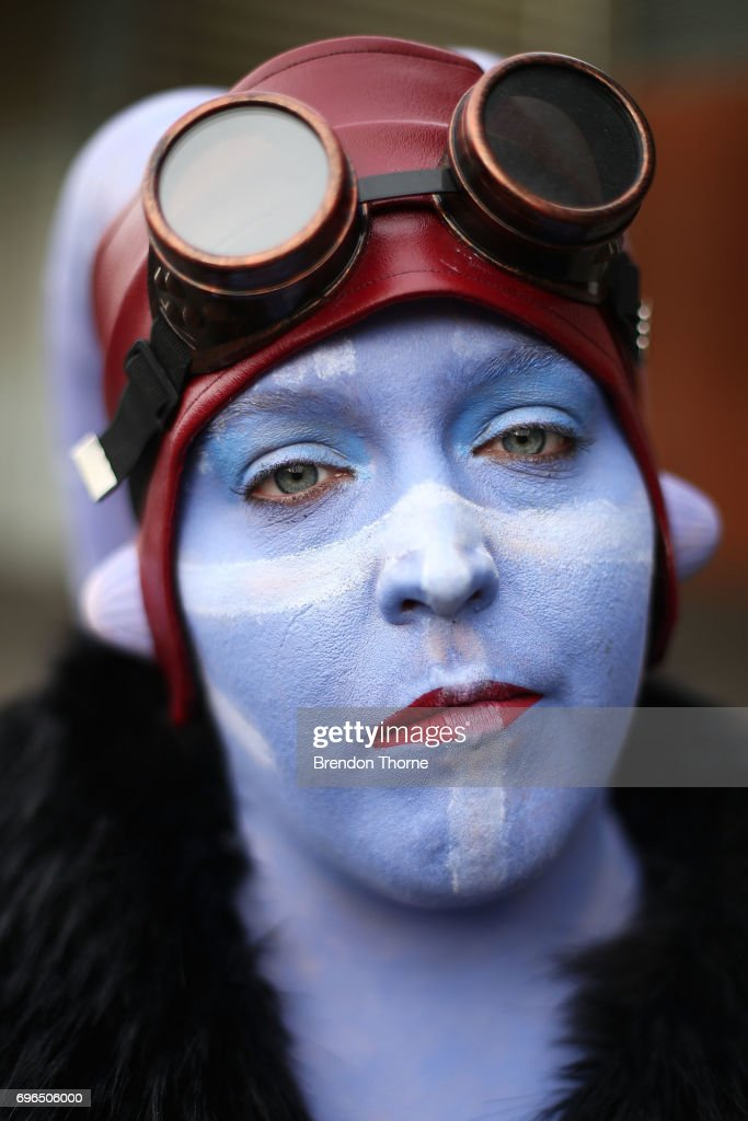 A cosplayer in character at Supanova Comic Con on June 16, 2017 in Sydney, Australia.