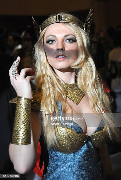 Cosplayer Jennifer Newman attends The Labyrinth Of Jareth XVII Masquerade held at Park Plaza Hotel on July 5 2014 in Los Angeles California