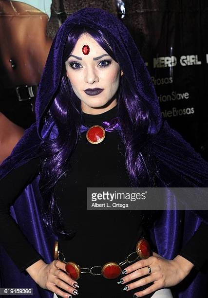 Cosplayer Joanie Brosas as Raven on day 3 of Stan Lee's Los Angeles Comic Con 2016 held at Los Angeles Convention Center on October 30 2016 in Los...