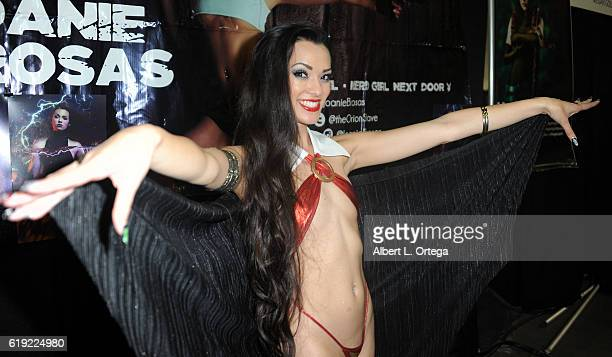 Cosplayer Joanie Brosas as Vampirella on day 2 of Stan Lee's Los Angeles Comic Con 2016 held at Los Angeles Convention Center on October 29 2016 in...