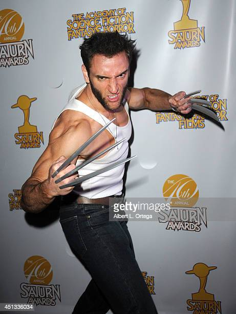Cosplayer Lon Brown as Wolverine attends the After Party for the 40th Annual Saturn Awards held at on June 26 2014 in Burbank California