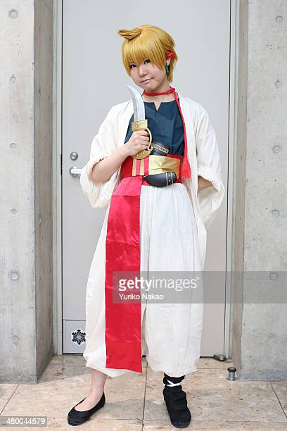 Cosplayer Manami Tsuya poses for a photograph at AnimeJapan 2014 at the Tokyo Big Sight on March 22 2014 in Tokyo Japan Cosplay is a shortterm for...