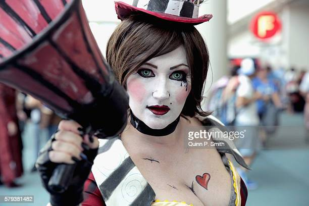 Cosplayer Pandora Lee Grayson attends Comic-Con International 2016 on July 23, 2016 in San Diego, California.