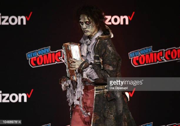 Cosplayer pose during New York Comic Con 2018 at Javits Center on October 6 2018 in New York City