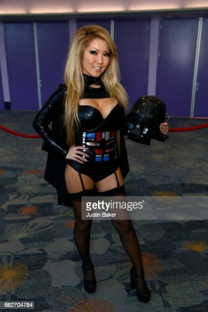 Cosplayer Tia Kai attend day one of WonderCon 2017 at Anaheim Convention Center on March 31 2017 in Anaheim California