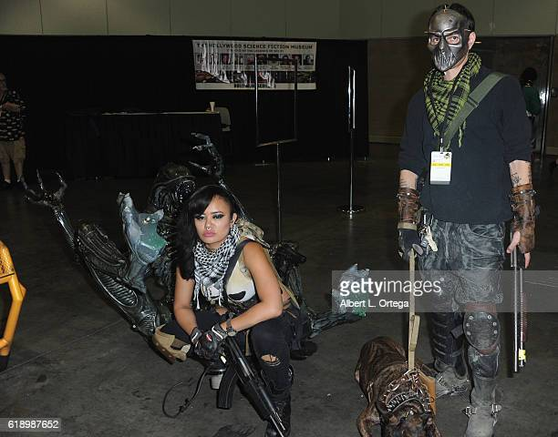 Cosplayers Annie Cruz and David Broido attend Day 1 of Stan Lee's Los Angeles Comic Con 2016 held at Los Angeles Convention Center on October 28 2016...