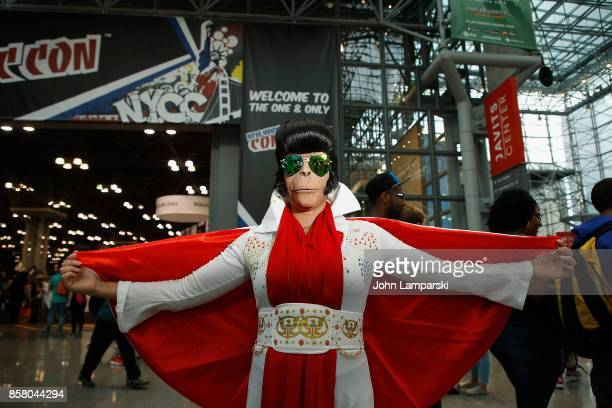 Cosplayers attend 2017 New York Comic Con - Day 1 on October 5, 2017 in New York City.