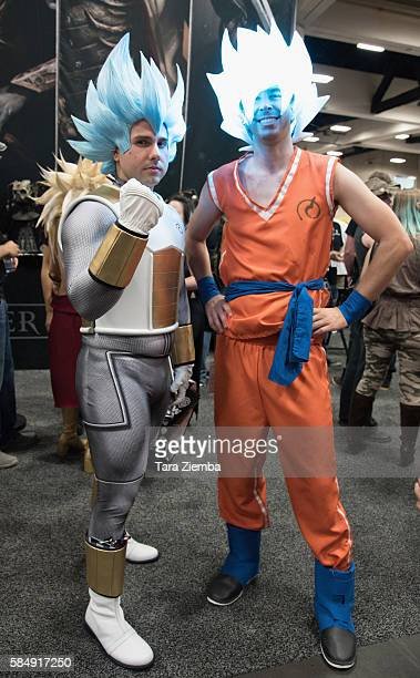 Cosplayers attend ComicCon International 2016 on July 20 2016 in San Diego California
