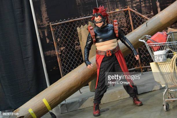Cosplayers attend day 1 of Anime Expo 2018 Los Angeles CA held at the Los Angeles Convention Center on July 5 2018 in Los Angeles California