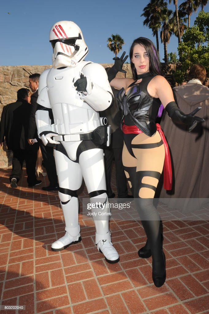 Cosplayer's attend the 43rd Annual Saturn Awards at The Castaway on June 28, 2017 in Burbank, California.