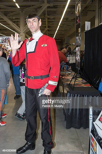 Cosplayers attend Wizard World Comic Con at Cleveland Convention Center on February 21 2015 in Cleveland Ohio