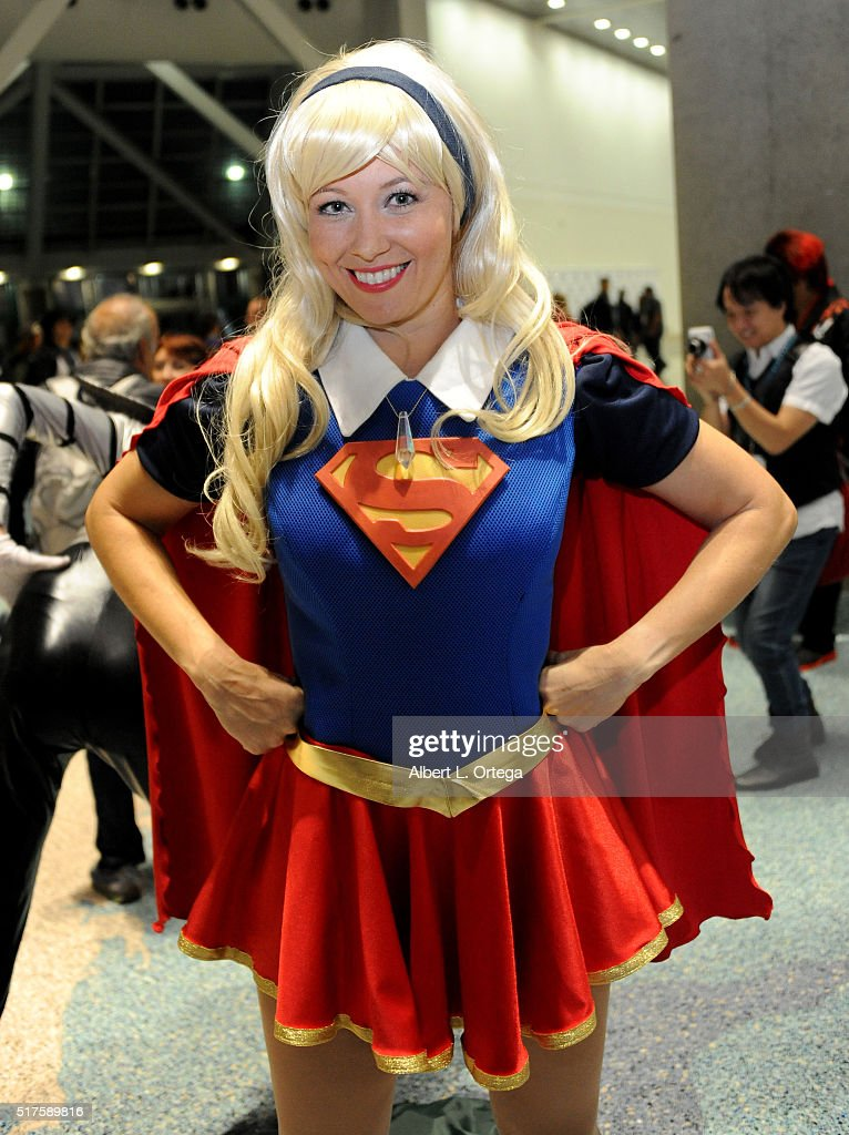 Cosplayers on Day 1 of WonderCon held at Los Angeles Convention Center on March 25, 2016 in Los Angeles, California.