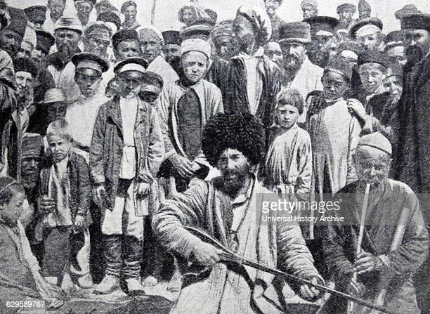 Cossack musicians Russia 1880