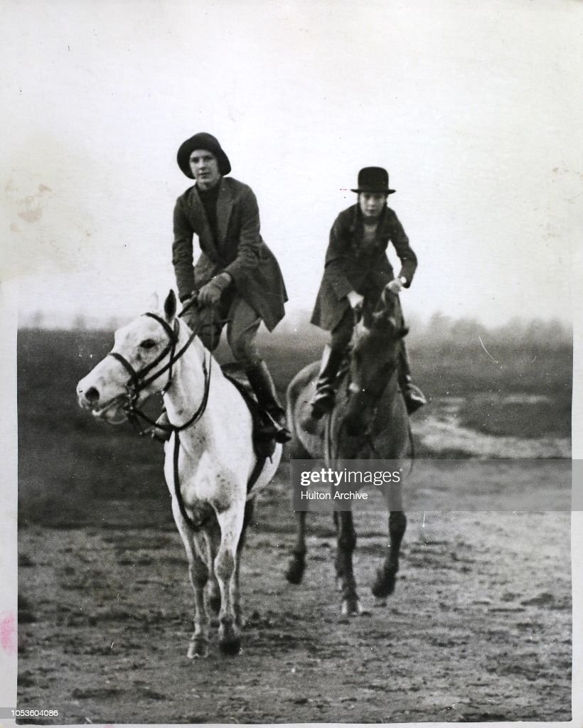 cossack riders at wimbledon miss ball and miss swann two young
