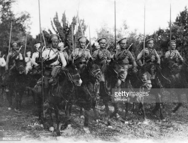 Cossacks attached to the 5th Siberians in Poland 19th July 1916