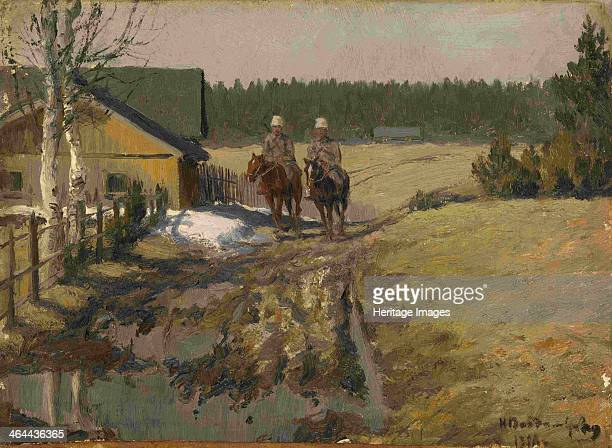 Cossacks on Horseback 1916 From a private collection