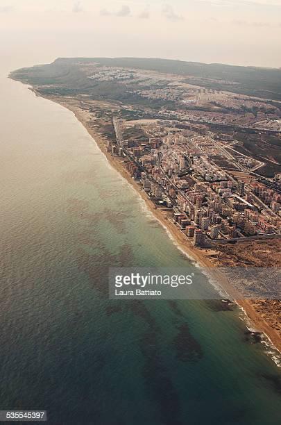 Costa Blanca - Seaside aerial view